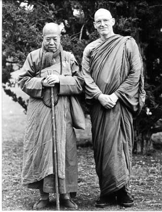 Venerable Master Hua and Venerable Ajahn Sumedho